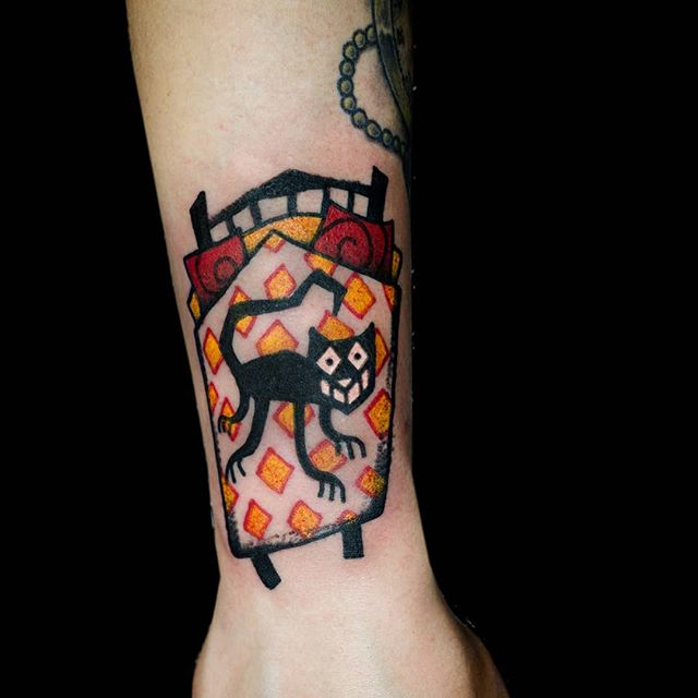 Mr. Cat. Walk-in tattoo @tatuointimessut.