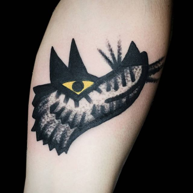 Walk-in wolf tattoo