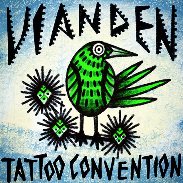 This weekend I'll do walk-in tattoos @viandentattooconvention! Welcome! 🌹Big thanks for @inkjunkies