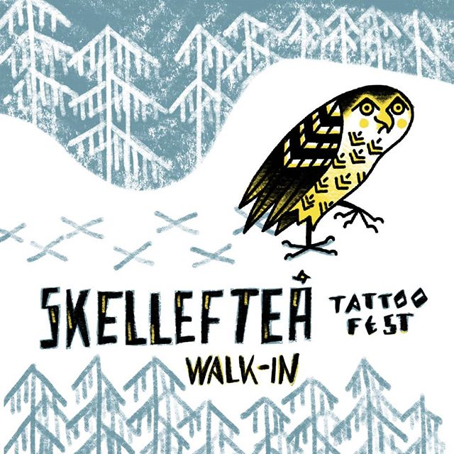 Walk-ins are welcome @skellefteatattoofest
