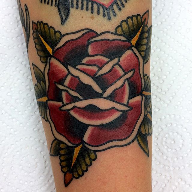 Rose tattoo. Bookings for november: mattesaaritattoo@gmail.com